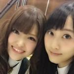 「のぎのぎしてきたよー」SKE48松井玲奈が乃木坂46松村沙友理とのツーショットを投下wwwwwww や、やさしいな・・・ (´;ω;`)ブワッ(画像あり)