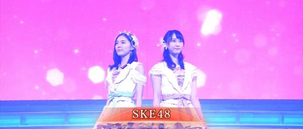 2014年紅白での松井珠理奈、松井玲奈以外のSKE48メンバーの扱いが酷すぎた件wwwwww(画像あり)