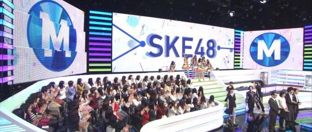 SKE48、今日(2月20日)のMステで2日前に歌詞ができ、前日に振り入れしたばかりの新曲をテレビ初披露 なにこのやっつけ感wwwww