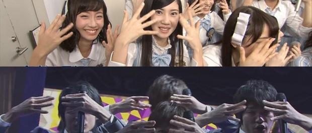 MステでSKE48が舞祭組ポーズを真似したことにジャニヲタ激怒wwwwwwwwwww(画像あり)