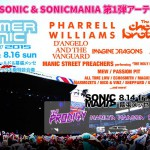 SONICMANIA&SUMMER SONIC 2015、出演者第1弾発表!Marilyn Manson、Pharrell Williams、The Chemical Brothersら豪華アーティスト揃い踏み