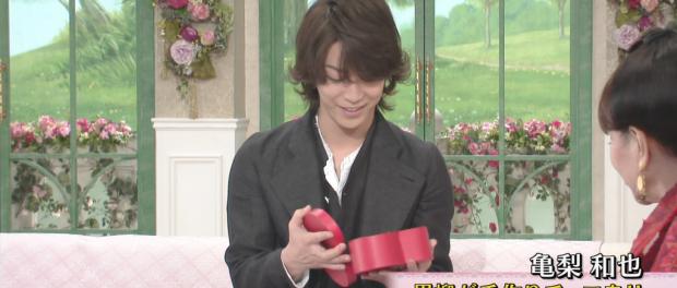 KAT-TUN亀梨和也、黒柳徹子に手作りバレンタインチョコをもらうwwwww(画像・動画あり) 2月13日放送「徹子の部屋」