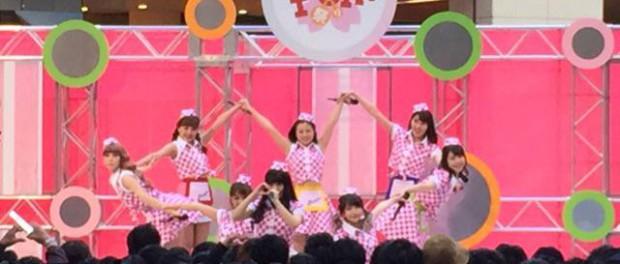 汐留の日テレイベント「春のPON!祭り」で、PASSPO☆のライブ中にヲタが服を脱ぎ暴れ連行、出禁になる事案発生wwwwww動画ワロタ  ※本人のツイートあり