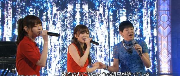 水曜歌謡祭で乃木坂46・白石麻衣が、和田アキ子と手を繋いで歌ってたんだがwwwwwwwwwwww(動画あり)