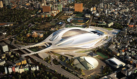 新国立競技場「東京オリンピックは屋根ナシで」 → 批判殺到wwwwww