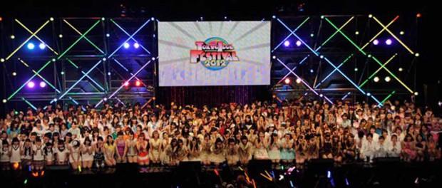 沖縄の無人島でアイドルフェス『瀬長島ガールズ・ポップ・フェスティバル2014』が7月5日、6日に開催