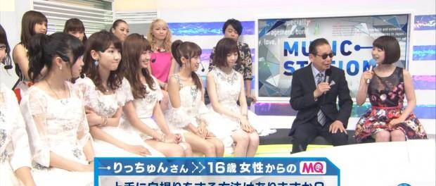 【悲報】MステでAKB48・柏木由紀の自撮り写真を見たタモリ「違う人みたいだね」