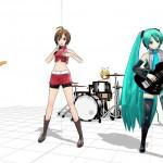 ボーカル>ギター>ドラム>>>ベース>>>>>キーボード