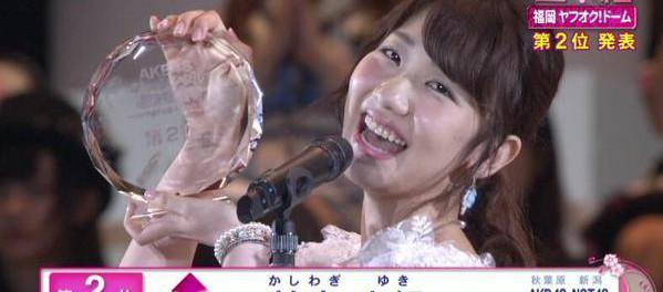 AKB48・柏木由紀の来場イベント、2分で終了!w