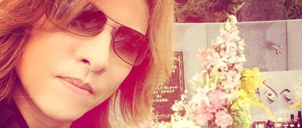 X JAPAN・YOSHIKI、HIDEの墓参りに行く(画像あり)