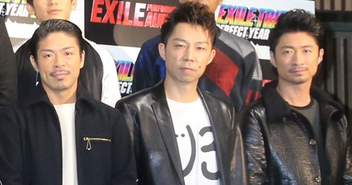 EXILE・松本利夫、USA、MAKIDAIの3人が今年限りでパフォーマー卒業 なお、EXILEには残る模様 ←??