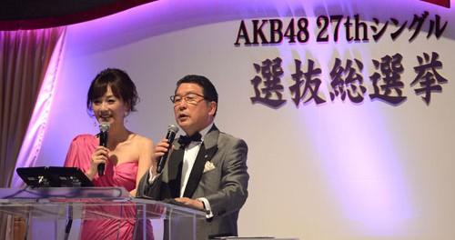 【悲報】AKB総選挙司会の徳光和夫、柏木由紀の顔を忘れる