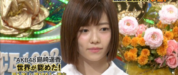 美容整形でなりたい顔ランキング」1位 AKB48・ぱるること島崎遥香wwwwww