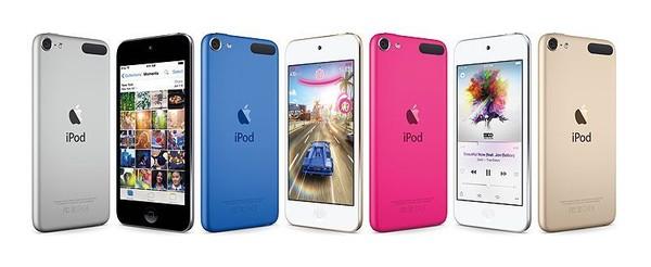 ついに第6世代iPod touch発売キタ━━━━(゚∀゚)━━━━!!