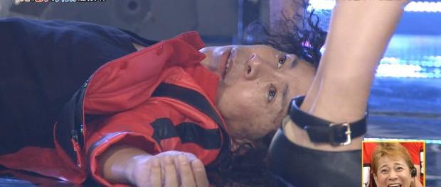 岡村隆史さんが27時間テレビでAKBメンバーのスカートの中を覗いてたんだが?(画像あり)