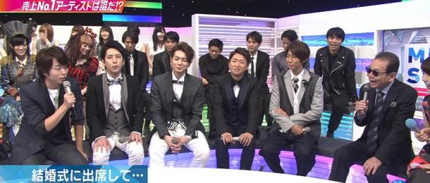 Mステで嵐の松本潤と櫻井翔が友達の結婚式にでて歌った話を披露www 嵐がくる結婚式ってすげーなwww(画像・動画あり)