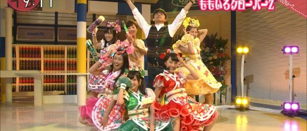 今年も「ももクロ」の紅白出場は確定だなwwwww NHKの「あさイチ」に出演し盛り上がる