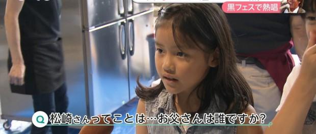 松崎しげるの娘がテレビでインタビュー受けててワロタwwwwww(画像あり)