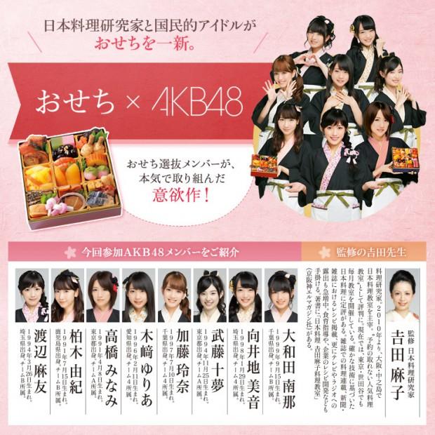 AKB48おせち1