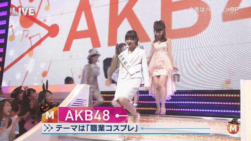 Mステ-AKB-仮装
