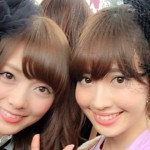 パリに行ったAKB48小嶋陽菜と乃木坂46白石麻衣のツーショット可愛すぎwwwwwwwwwwww