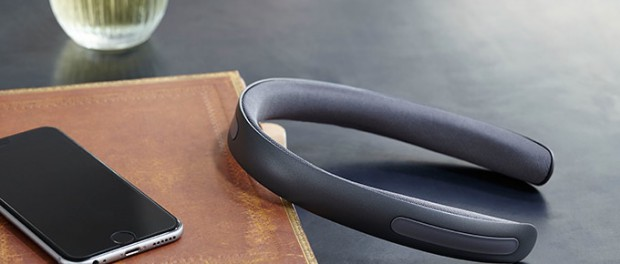 耳を塞がないバンド型ヘッドホン『BATBAND』が登場!やだ…かっこいい…(画像あり)