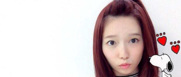 【悲報】AKB48島崎遥香さん、髪を赤く染めタトゥーシールにハマる 迷走してるなwww