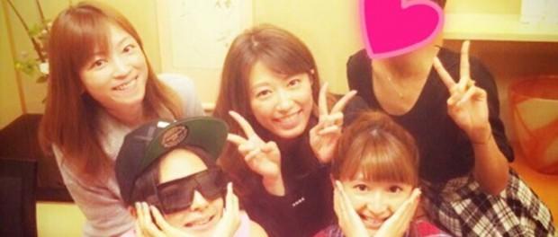 矢口真里、misono、里田まい、吉澤ひとみ、ロンブー敦の嫁で女子会wwwwwww(画像あり)