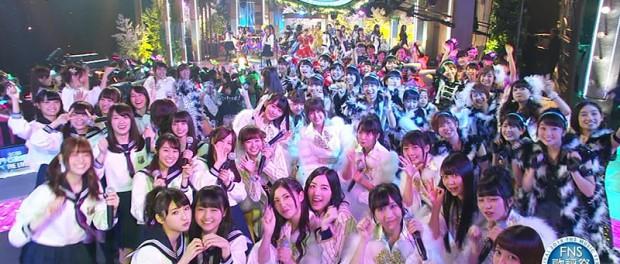 FNS歌謡祭 THE LIVEのアイドルメドレーでのハロプロの扱いが悪くてハロカス発狂wwwwwwww(画像・動画あり)