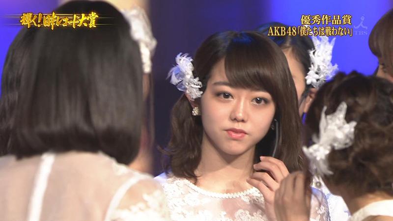 レコ大2015-AKB48-峯岸みなみ-口パク-02