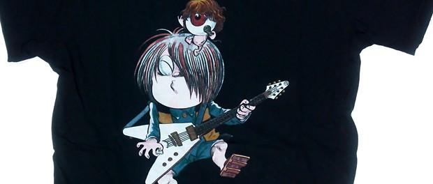 VAMPSが水木しげる逝去に追悼ツイート HYDEがマイクを持った目玉おやじに、K.A.Zがギターを持った鬼太郎になったコラボグッズを出していた模様(画像あり)