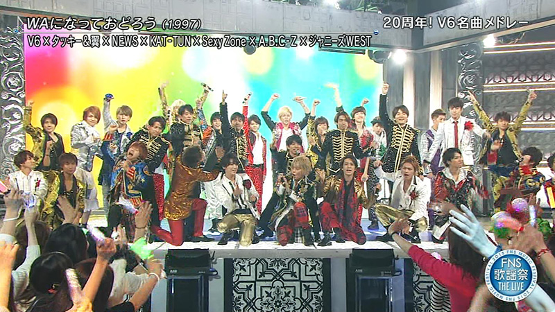 2015 FNS歌謡祭 THE LIVE ジャニーズ派閥越え-07
