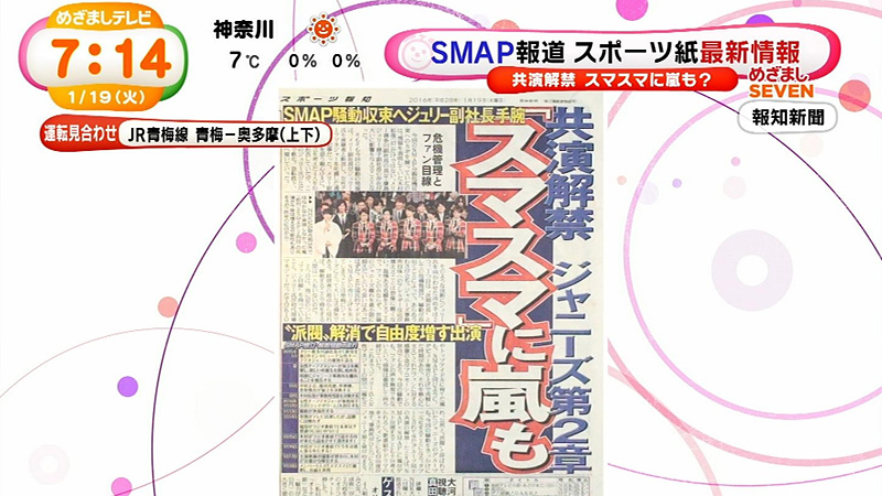 めざましテレビ-ジャニーズ派閥解消-01