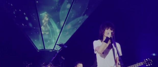 BUMP OF CHICKENと初音ミクが共演した東京ドームの「ray」ライブ映像解禁キタァァアアアアアアア!!!!(動画あり)
