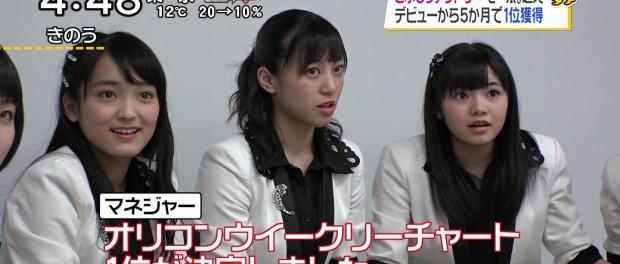 こぶしファクトリーの新曲「桜ナイトフィーバー」がオリコン1位キタ━━━━(゚∀゚)━━━━!! デビューからわずか5ヶ月