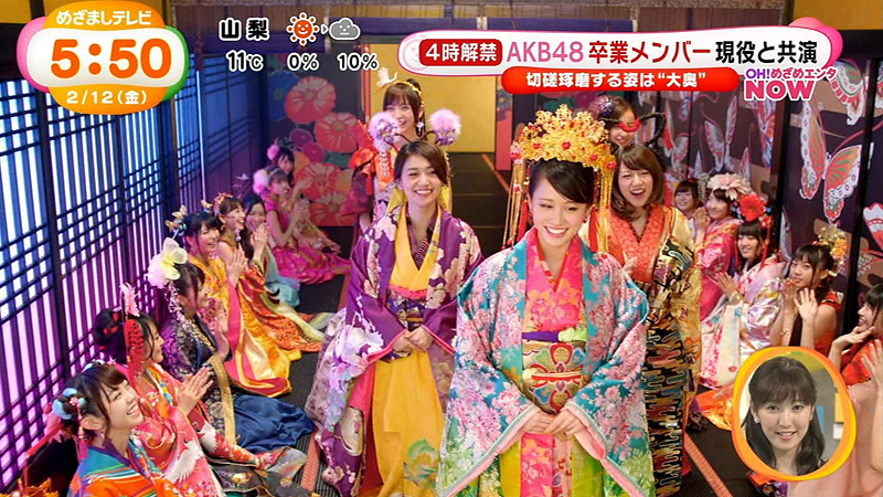 めざまし-AKB48-君はメロディー