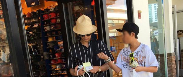 SMAP香取慎吾、ハワイで子どもと一緒にいるところを激写される 隠し子か?