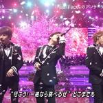 KAT-TUN、最後のMステで4人から3人になる演出 新曲は3人で歌唱 声を震わせ涙する場面も(画像・動画あり)