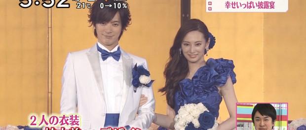 DAIGOと北島景子の結婚式、絶対テレビ中継やるべきだっただろ
