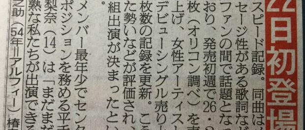 欅坂46、4月22日のMステ出演決定きたああああああああああああ