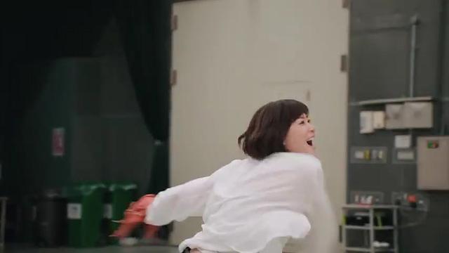 野球 上野樹里 和田唱 キャッチボール 01
