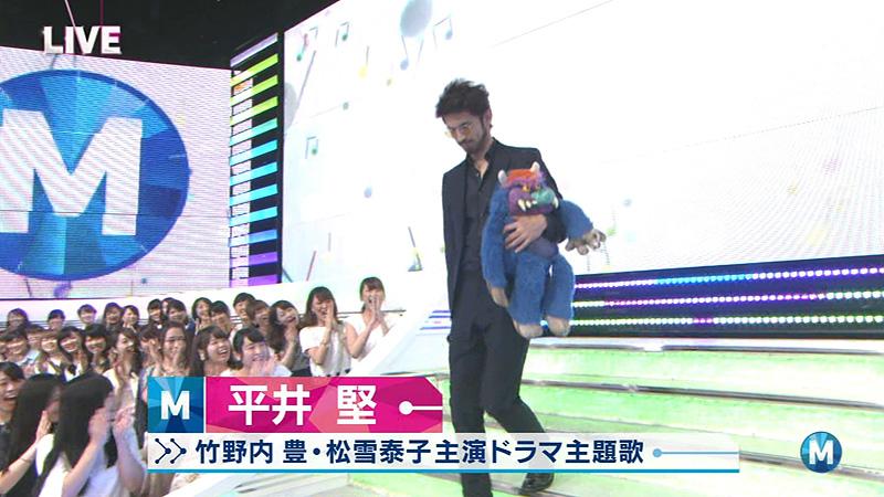 Mステ 平井堅 ぬいぐるみ 02