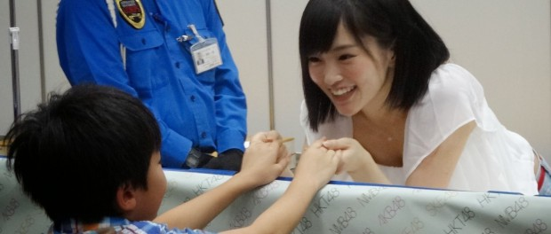 NMB48山本彩の握手の仕方wwwww
