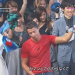 「水曜歌謡祭」に出演したC・ロナウドの顔が死んでたと話題wwwwww(画像あり)
