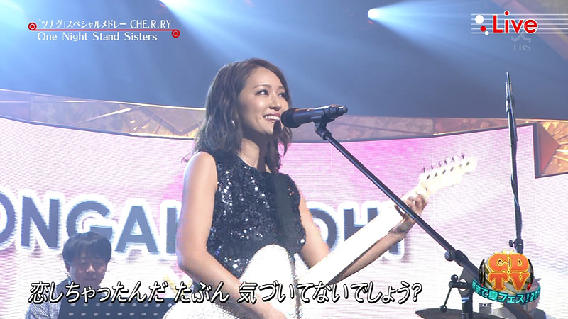 音楽の日2016 One night stand sisters 06
