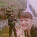 これは・・・ 韓流アイドル「AFTERSCHOOL」リジが竹島に不法上陸し日本を挑発(画像あり)