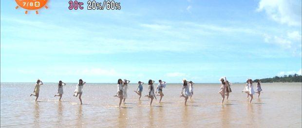 乃木坂46新曲『裸足でSummer』MVの海がきったねぇwwwwwwww