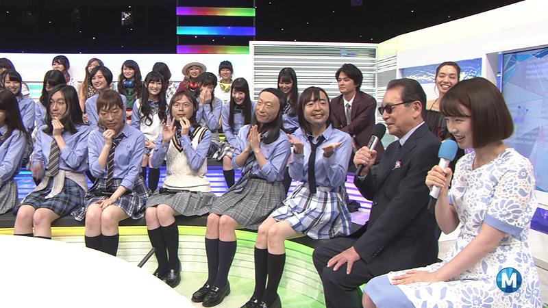 Mステ ユニコーンお面 AKB 04