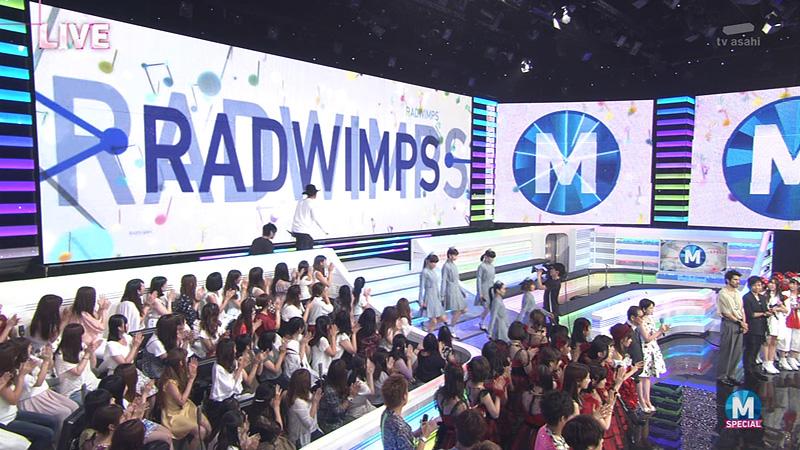 Mステ radwimps 01