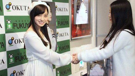 橋本環奈の握手会の時の顔wwwwwwwww(画像あり)